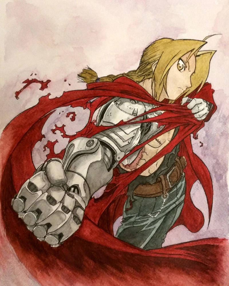 Fullmetal Ed by WintermuteArt