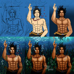 Underwater Ace: Step by Step by GeistdesFeuers