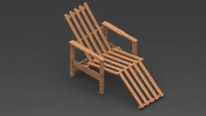 Wood Chair by Marsovski
