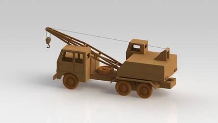Truck cran by Marsovski