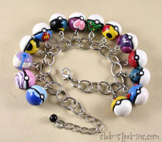 Pokeball Bracelet by SpankTB