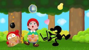 Adeleine for Super Smash Bros! by Hoshi-no-Kaabii
