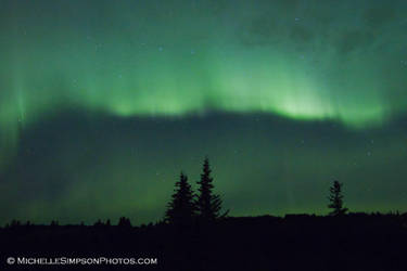 Aurora Borealis: 10-12-12 2 by MSimpsonPhotos