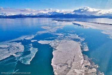 Icy Homer Spit by MSimpsonPhotos