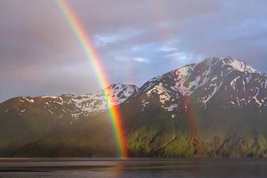 Turnagain Rainbows by MSimpsonPhotos