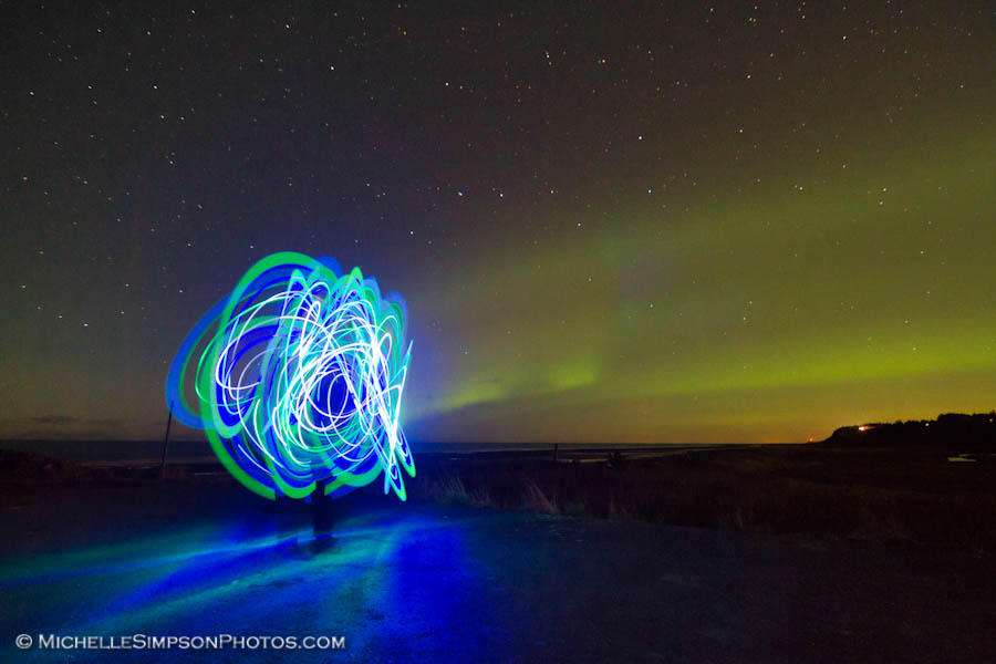 Electric Aurora by MSimpsonPhotos