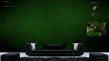 my desktop green by dublusto