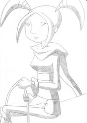Zoria from Dragon Hunters Show! With long rope... by Dardedesum