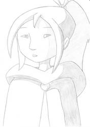 Beautiful dragon huntress! by Dardedesum
