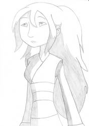 Zoria from Dragon Hunters Show! With long hair! by Dardedesum