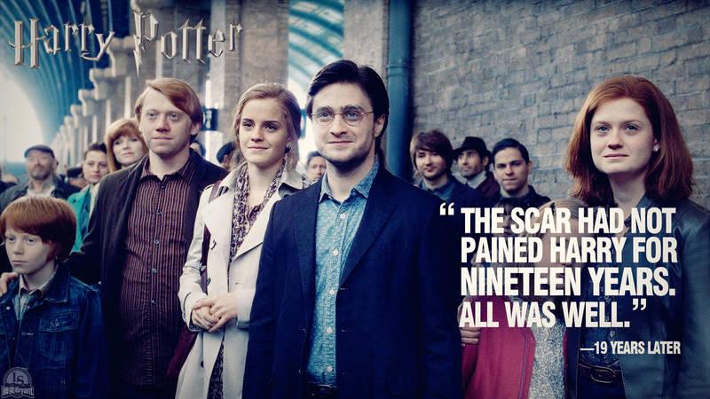 Harry Potter Epilogue Wallpaper by lisong24kobe
