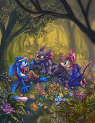 Happy B-day Tachis! Nightfury Gift! (Not My Art) by Trevor-Fox