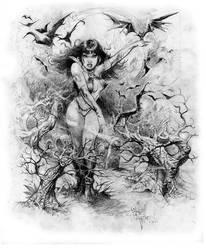 Smoky Vampirella by rattlesnapper