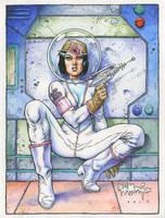 Spacegirl by rattlesnapper