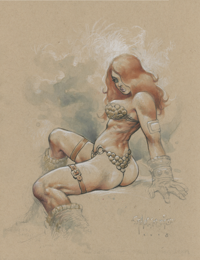 Red SONJA by rattlesnapper