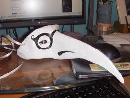 Plague Doctor Mask by Linaeve