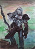 Kain sketch by Daelyth