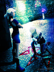 Impa and Sheik cosplay by Daelyth