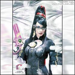 Bayonetta cosplay by Daelyth