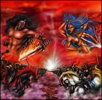 War Gods by Daelyth