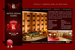 Hotel Reina Isabel Web by luengo