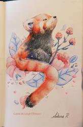 Copia de Leigh Ellexson Panda rojo by Axowen