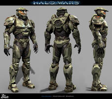 Halowars - Spartan by Baldasseroni