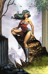 Wonderwoman Small by romulofajardojr