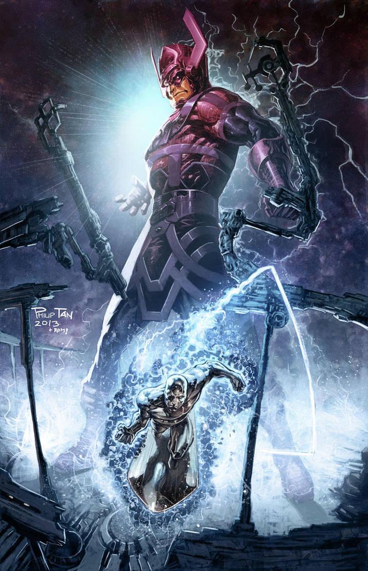Galactus by romulofajardojr