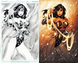 Wonder Woman commission by romulofajardojr