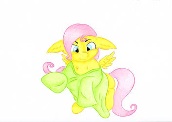 MLP Fluttershy Sweater by Rurihal