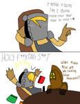 Shovel Knight - Gotta move that gear up! by CharmeleonGirl46