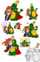 The Lizard Monarchs by CharmeleonGirl46