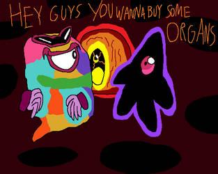 Three Oddball Dark Matters by CharmeleonGirl46