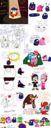 KRoDM Doodle Batch 2 by CharmeleonGirl46