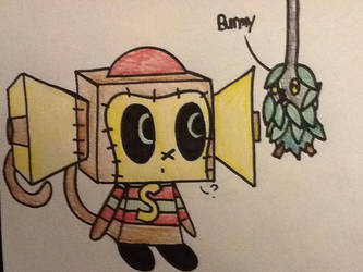 MHS-Pokemon: Spimon and a Burmy by TigeressBird324