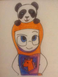 JD: A Knight and His Panda by TigeressBird324