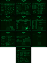 Writable Pipboy themed Dark Heresy Character Sheet by GeneralRex