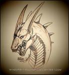 .:: Wyndbain-Sketch Commission ::. by Windspirit-Aquaeris