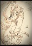 .:: Aquaeris - Sketch ::. by Windspirit-Aquaeris