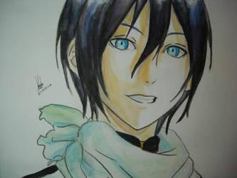 Yato from Noragami fanart by MidorimaSan