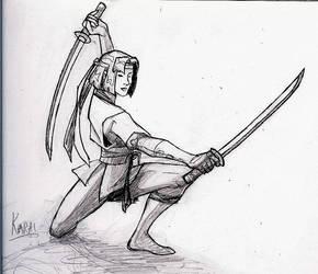Karai Sketch by Kobugi-Ninja