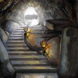 Cave doodle by intelligencequotient