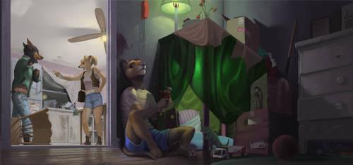Escapism by FuzzleMint