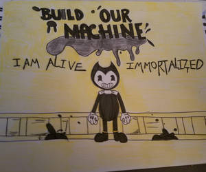 Bendy And the Ink Machine by EvilPrincess1993