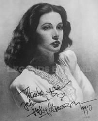 Hedy Lamarr by legendsbylund