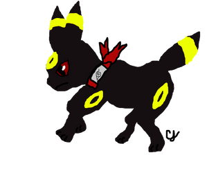 Shadow the Umbreon (Final) by Pikachu297