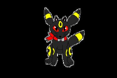 Ninja Umbreon Cat by Pikachu297