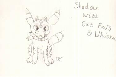 Ninja Umbreon Cat Sketch by Pikachu297