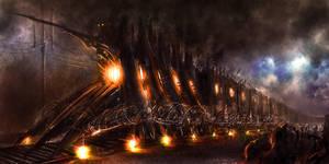 War Train Concept by feenixfabay